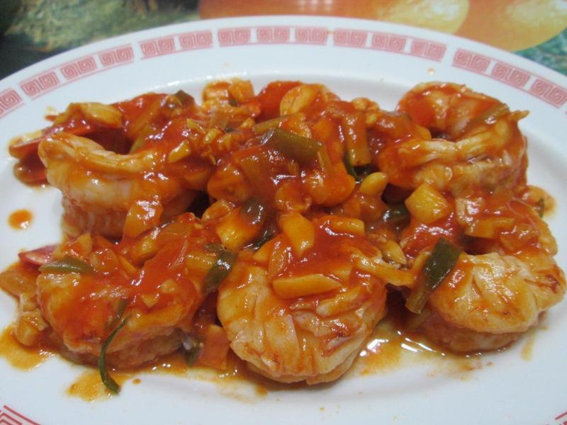 茄汁天使紅蝦