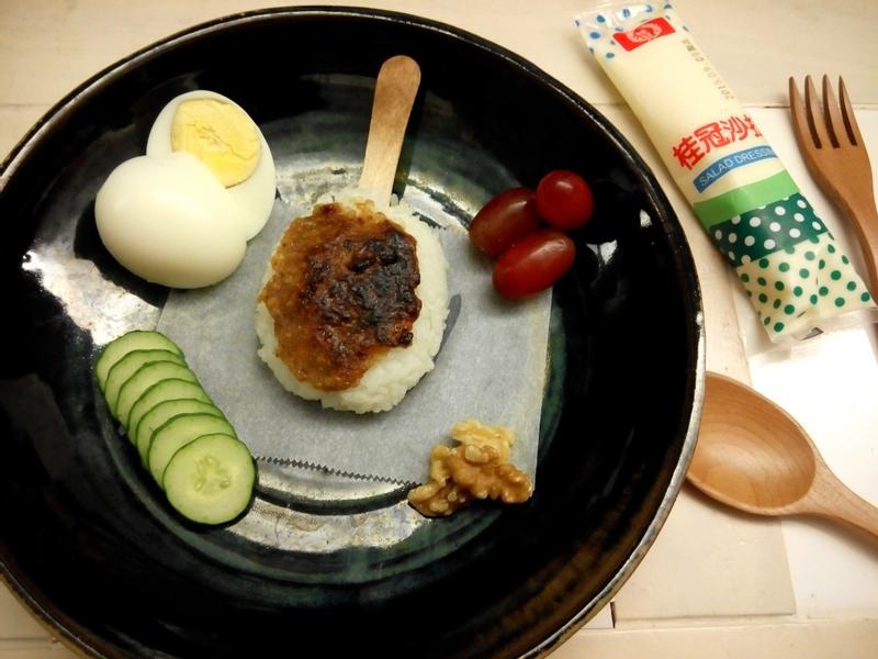 核桃味增烤米棒【滿分早點X桂冠沙拉】