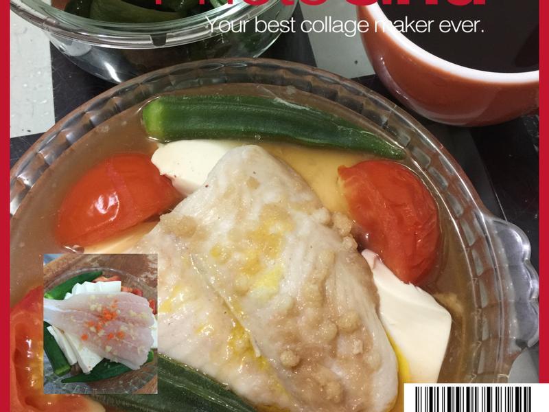 電鍋菜~豆腐鮮蔬魚片(241大卡)