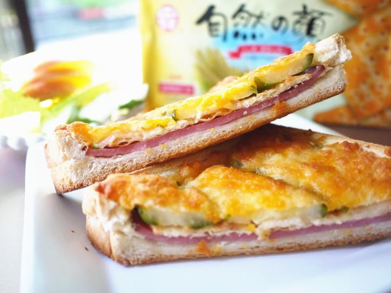 焗烤火腿吐司盒【自然の顏餅乾趴】