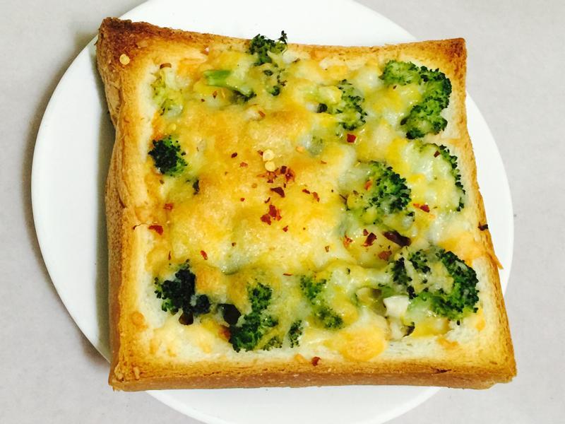 創意蔬食披薩吐司