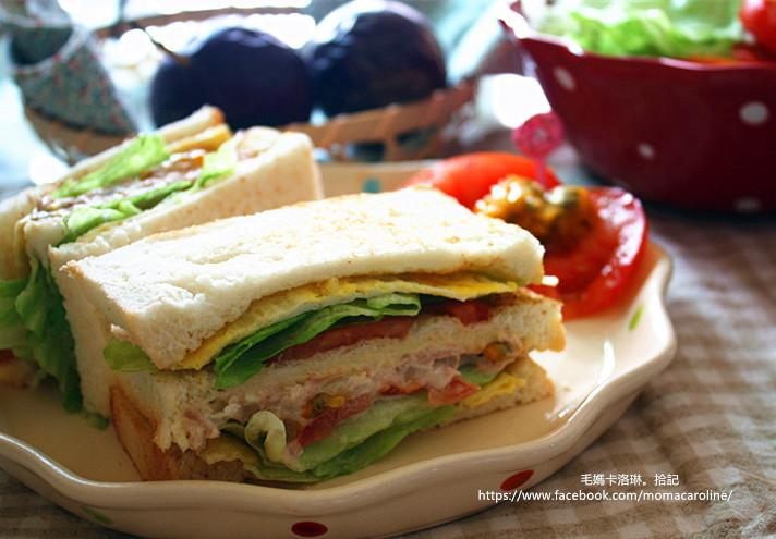 百香果鮪魚三明治