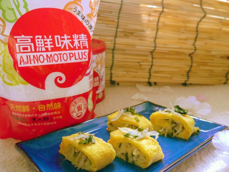 香蔥吻仔魚玉子燒「味之素品牌」高鮮味精