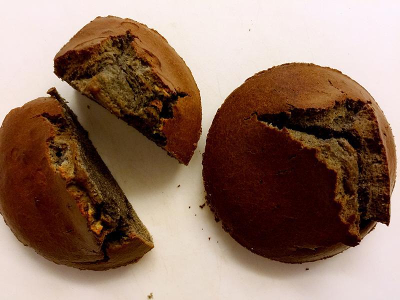 超簡易黑芝麻馬芬蛋糕(鬆餅粉)