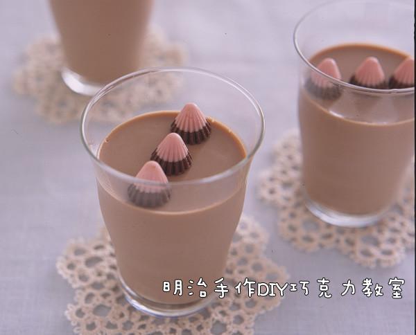超簡單巧克力布丁