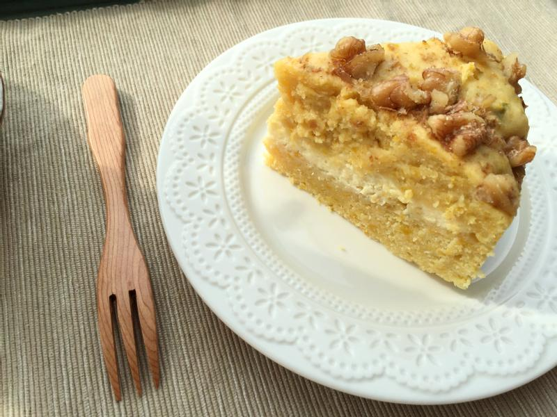 萬聖節!南瓜雙層乳酪蛋糕