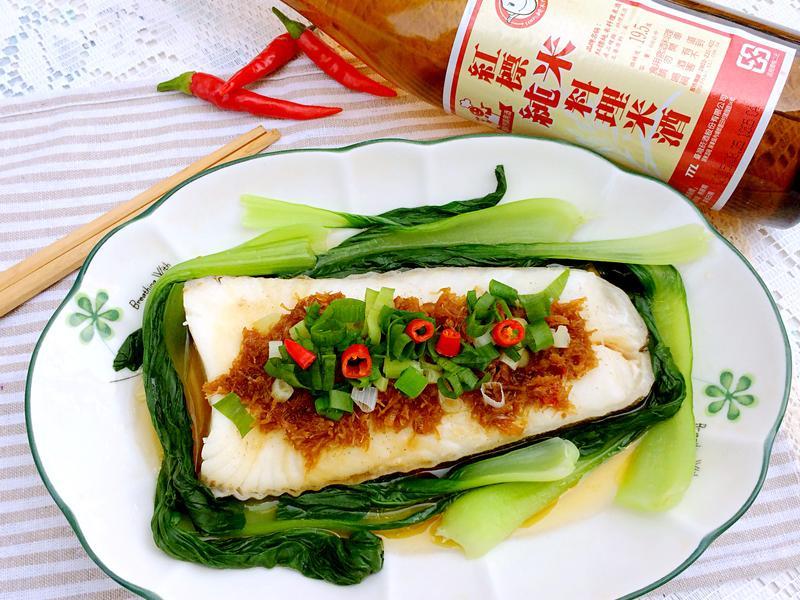 酒香XO醬清蒸魚