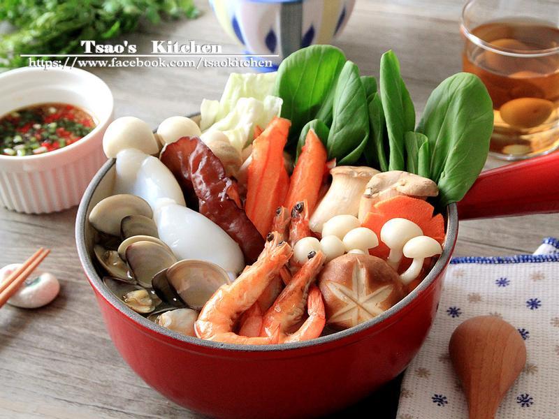 海鮮活力菌菇鍋【全聯火鍋祭】