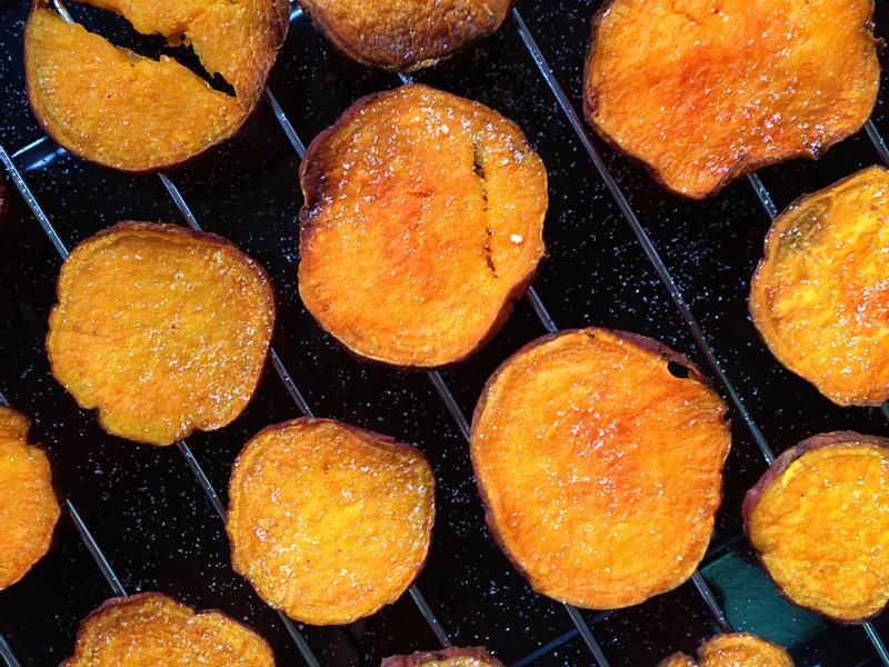 【酥脆海鹽紅心薯片】少油低脂吃進滿滿健康