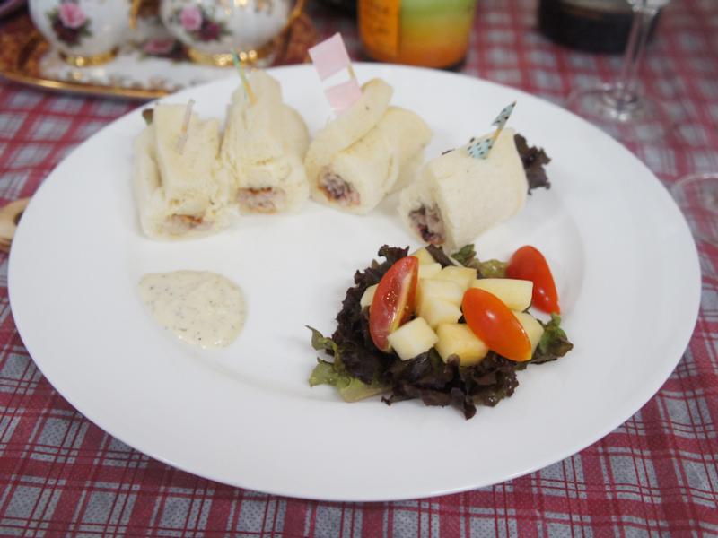 鮮蝦海鮮土司卷【日芳珍饌】