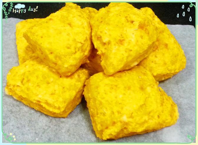 南瓜起司司康(無蛋及奶油)