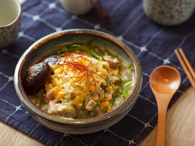 香菇起司粥 - LEHO極上越光米