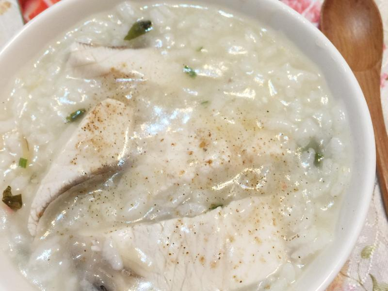 6 分鐘虱目魚粥