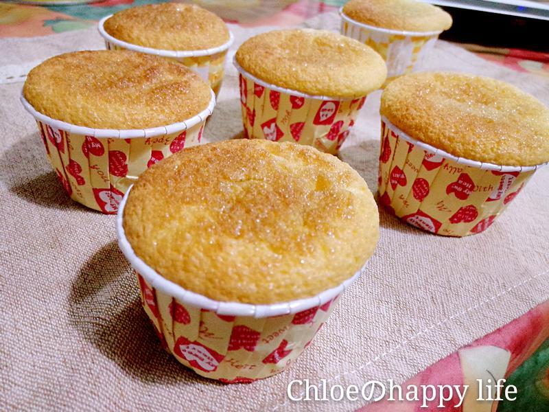 楓糖海綿杯子蛋糕