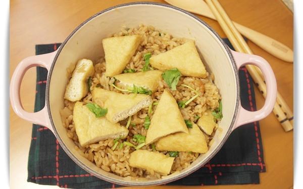 油豆腐炊飯 - 香Q一鍋飯!!