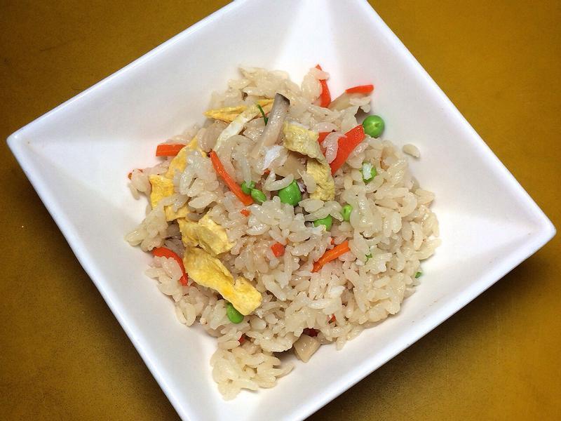 蟹肉什錦雜炊飯