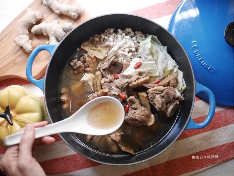 薑母鴨 ◆ 冬令進補絕對少不了這一鍋