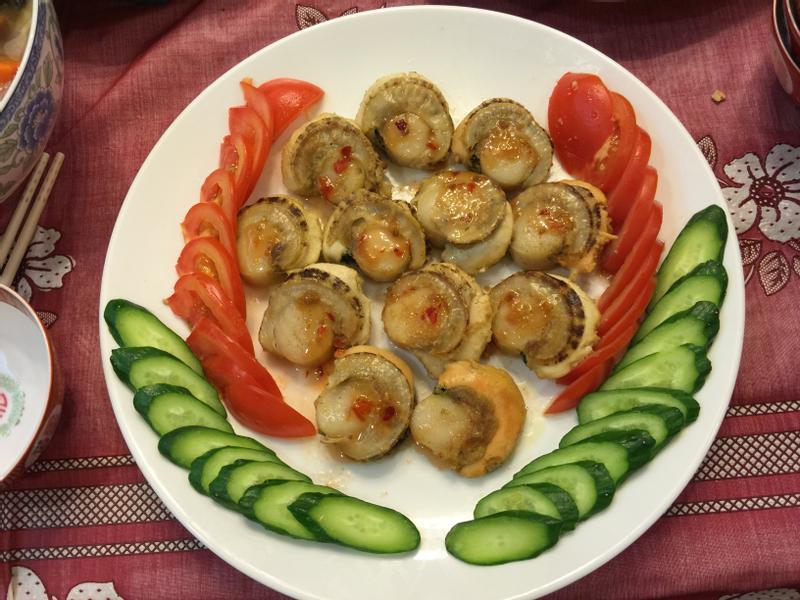 ❤馬蟻小乖❤香煎帆立貝(泰式酸辣醬)