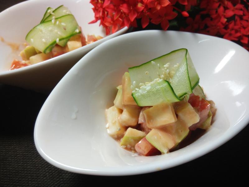 雙蕃沙拉-家樂福廚神大賽2015
