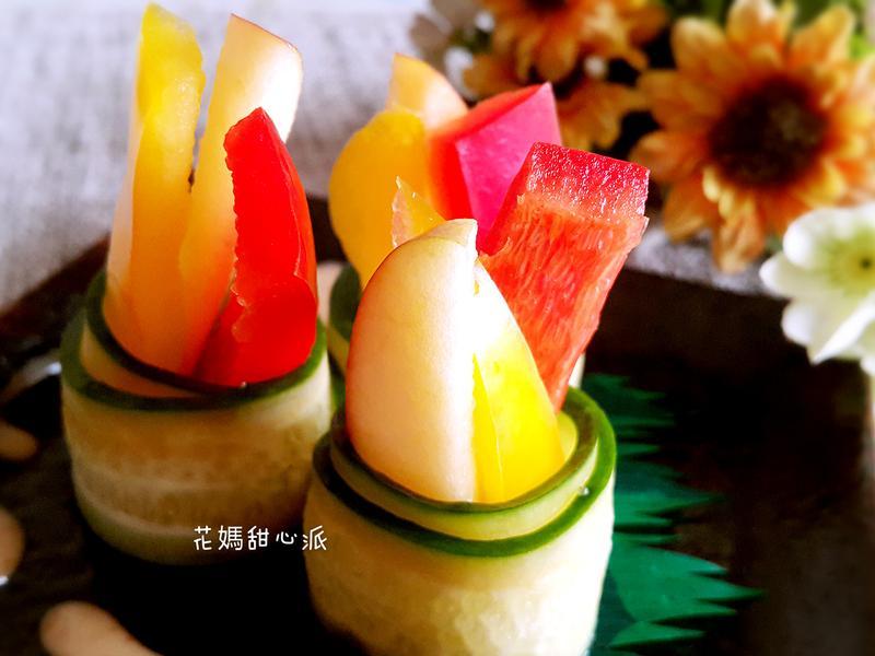 輕食黃瓜蔬果捲家樂福廚神大賽2015