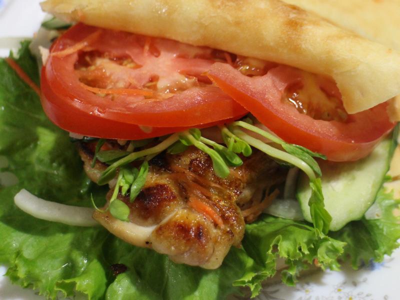 Pita~~雞肉Pita