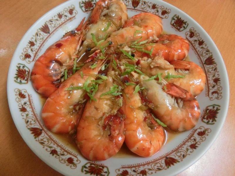 桔香檸檬蝦