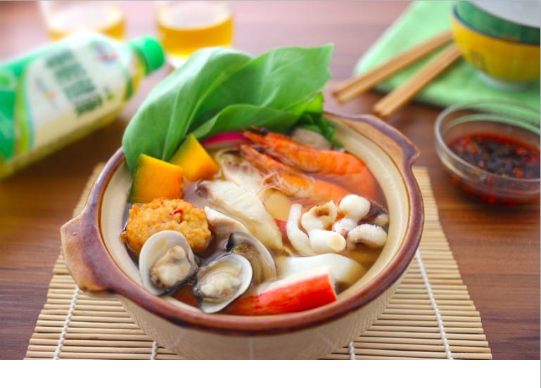 濃情醬油海鮮鍋【全聯火鍋祭】