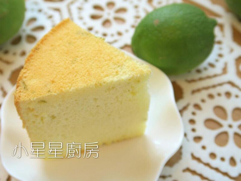 柔軟美味!檸檬煉乳燙麵戚風蛋糕