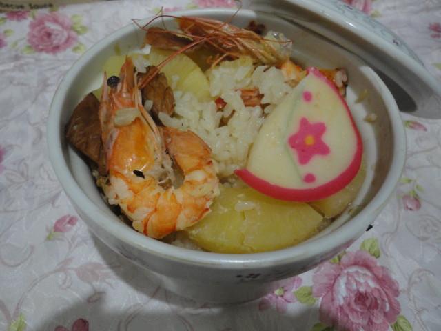 鳳梨酒香海鮮飯