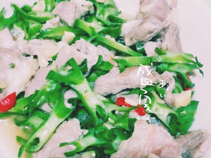 楊桃豆炒肉