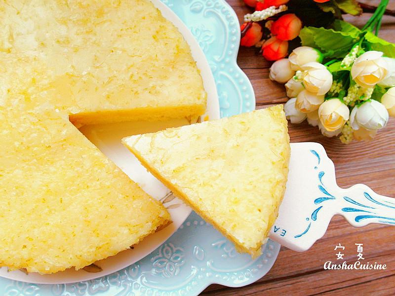 ♡免烤箱♡老奶奶檸檬蛋糕