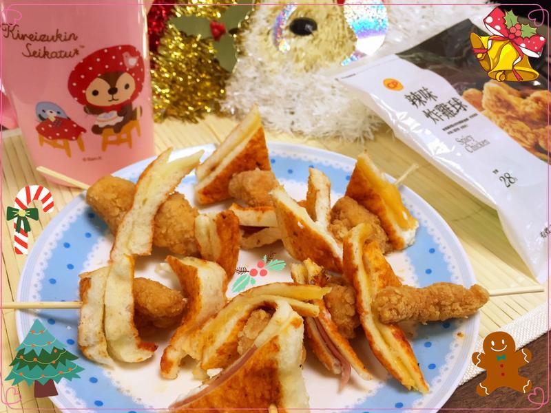 起司雞米花四重奏_小七派對美食