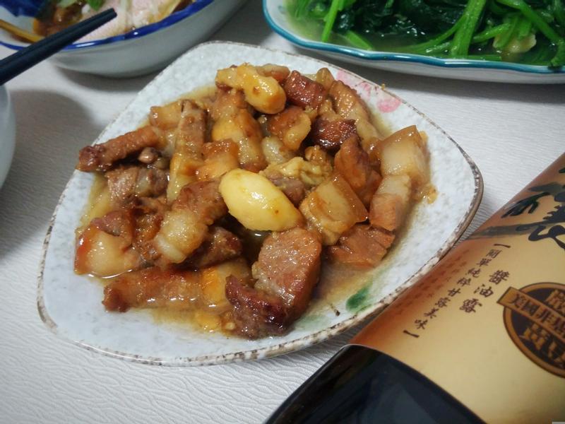 綿綿蒜頭紅燒肉【淬釀真心食堂】