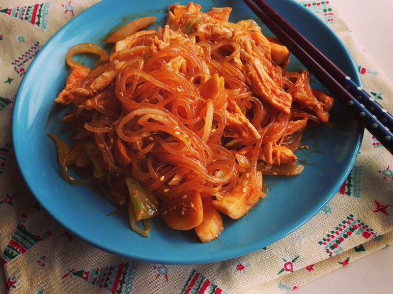 韓式什錦炒冬粉