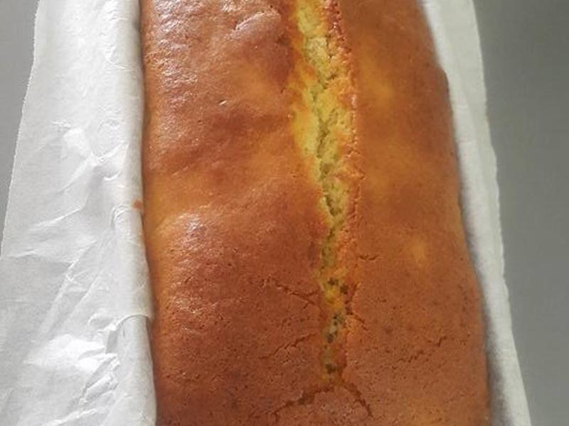 [無泡打粉]香蕉蛋糕