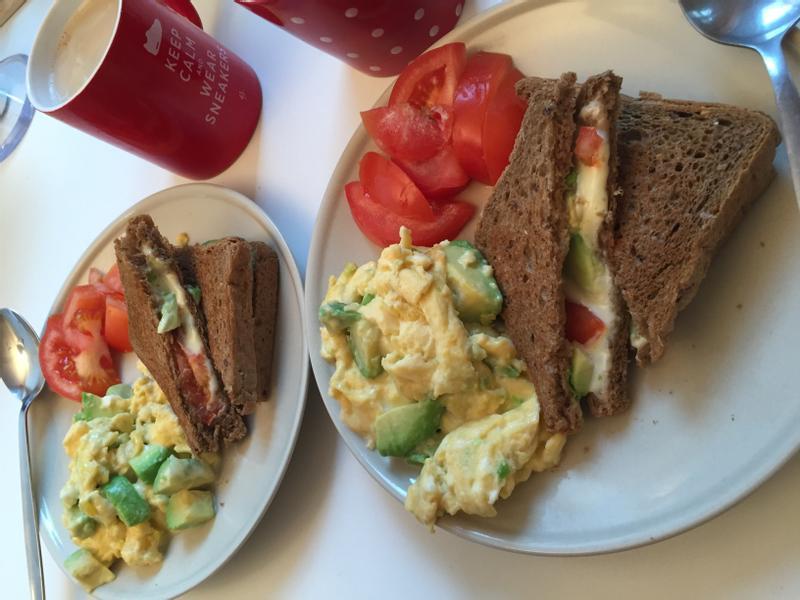 愛心早餐 美好的一天當然從早餐開始