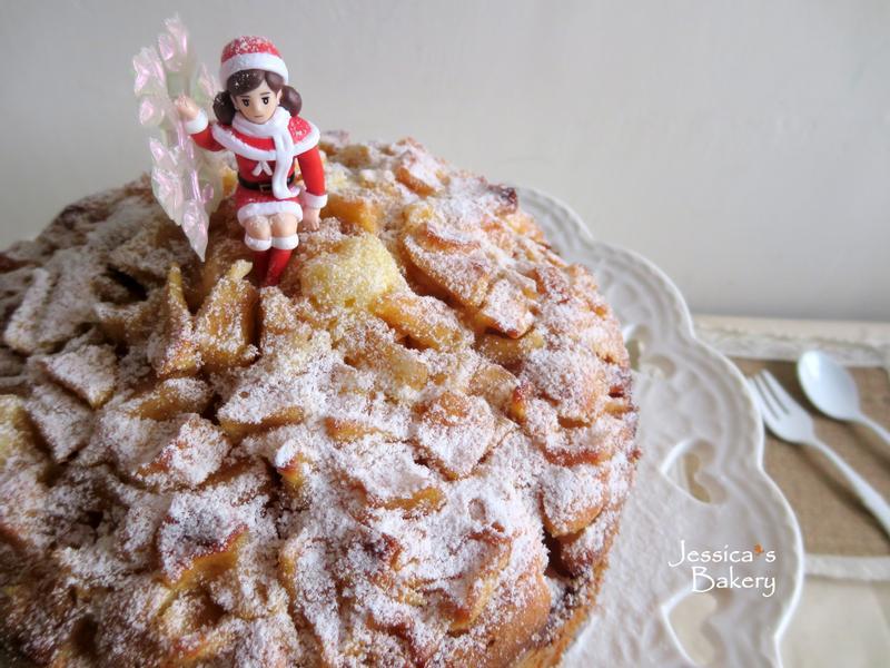 聖誕蘋果蛋糕