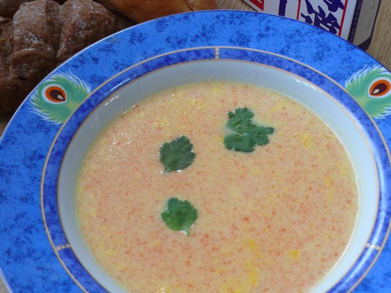 紅蘿蔔濃湯 (好侍北海道白醬)