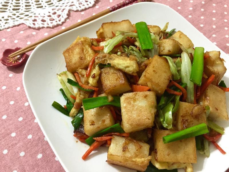 干貝醬炒蘿蔔糕