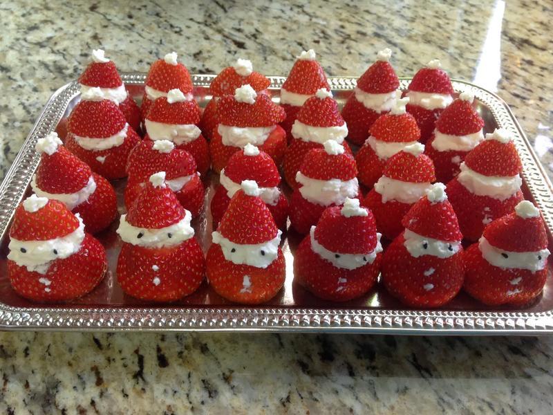 可愛耶誕草莓老公公❤!!!