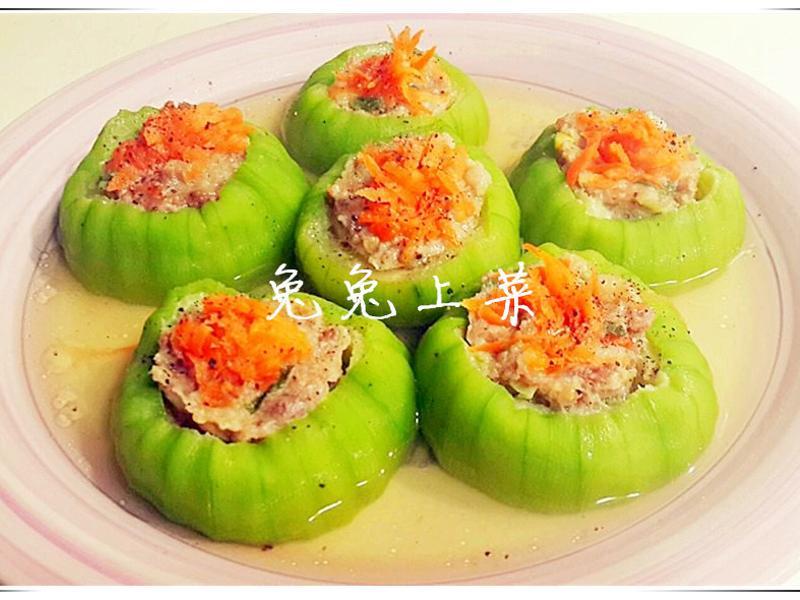 絲瓜鑲肉(年菜)