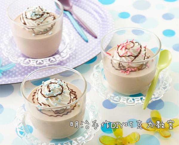 巧克力蛋奶凍