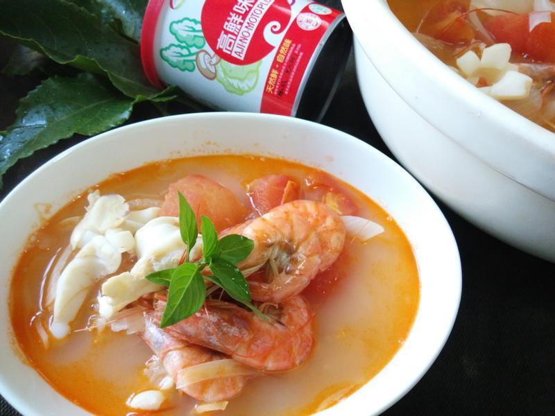 泰式美味海鮮酸辣湯「味之素品牌」高鮮味精