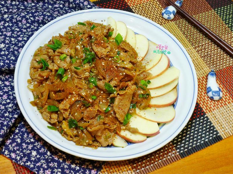 日式薑燒豬肉