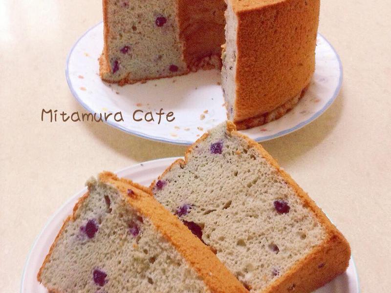 藍莓戚風蛋糕