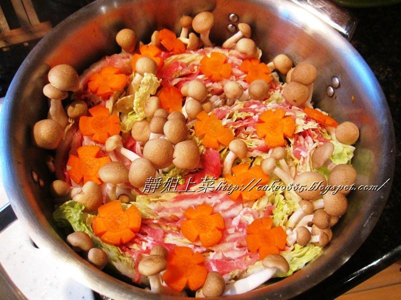味噌豬肉白菜千層鍋