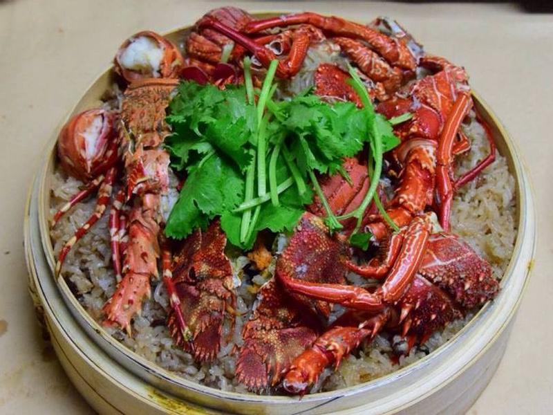 【徐家小館】龍蝦蝦姑頭油飯
