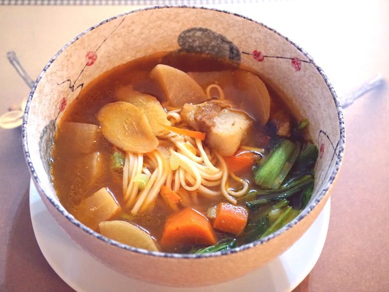 茄香豬肉拉麵【蕃茄醬懶人料理】