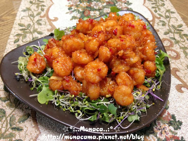 韓式醬燒蝦仁깐쇼새우