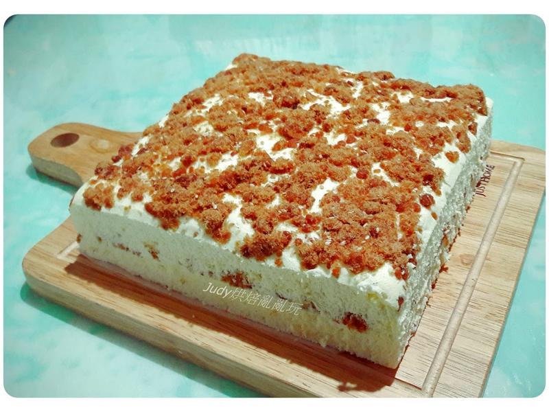 肉鬆蒸蛋糕